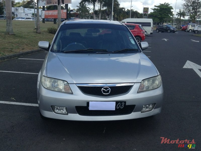 2003 mazda protege owners manual