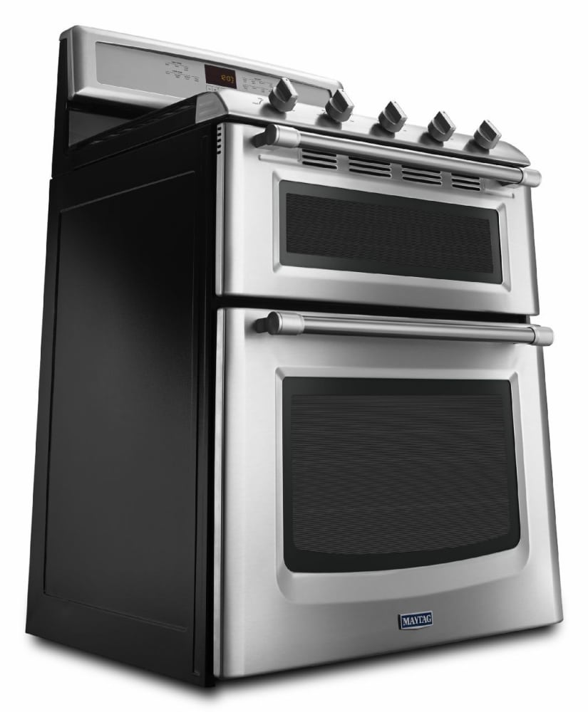 maytag double oven gas range manual