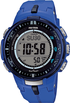 casio protrek prw 3000 manual