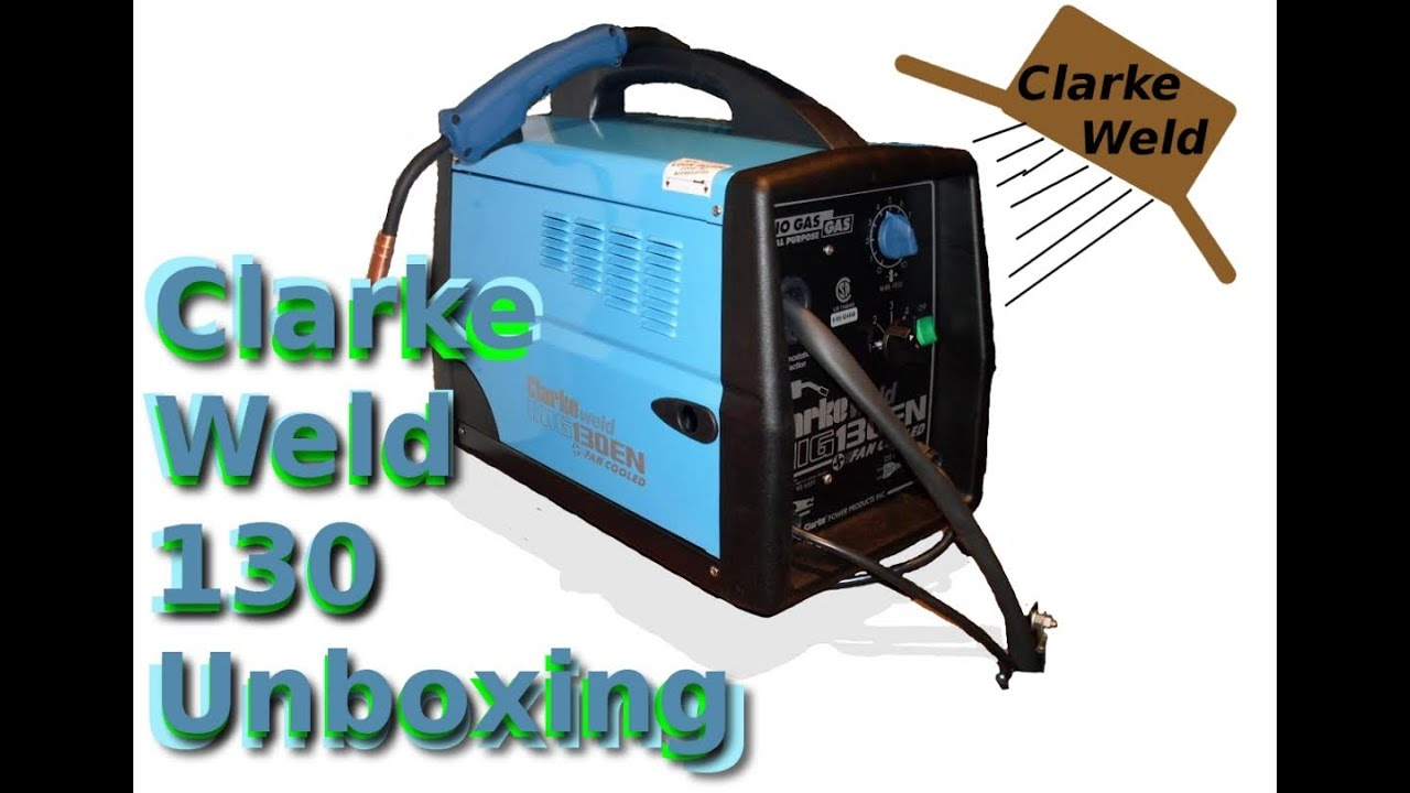clarke turbo weld 100en manual