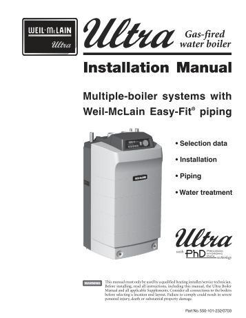 weil mclain 88 series manual