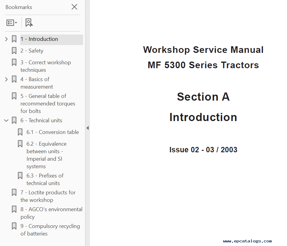 massey ferguson 1030 service manual pdf