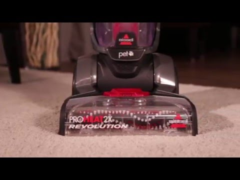 bissell proheat pet upright deep cleaner manual