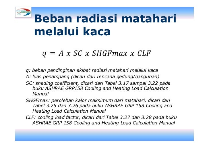 cooling and heating load calculation manual ashrae grp 158
